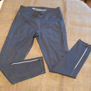 Victoria Sport Size Large Gray Tights with Zippers